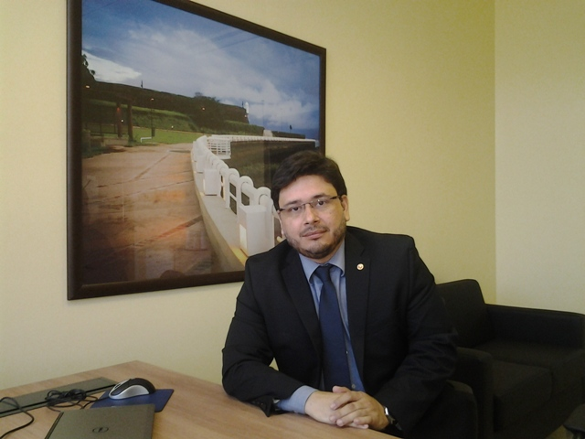 O promotor André Araújo: não podemos afirmar desvio de recursos