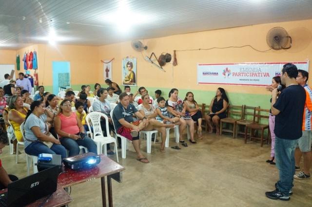 A ideia é manter um diálogo permanente com a população, diz Marcivânia
