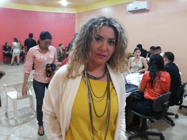 Albanize Colares, diretora da Fcria: