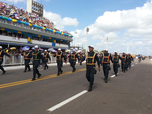 A Guarda Municipal representou Macapá no 7 de setembro