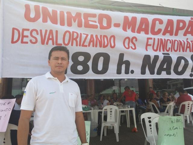 Daniel Correa: não aceitamos trabalhar 180 horas por mês