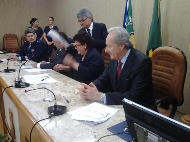 O ministro Ricardo acompanhou a primeira Audiência de Custódia no Amapá. Fotos: André Silva