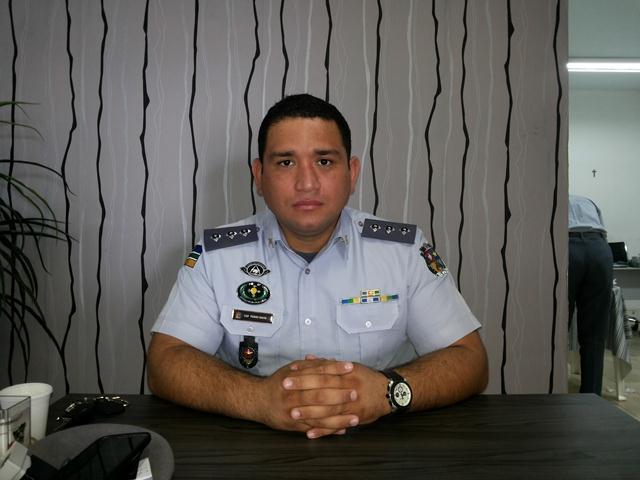 Capitão Pedro Davi: queremos evitar pequenos furtos e arrombamentos de veículos