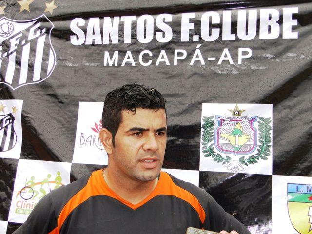 Depois de cinco anos, Diego Cabral deixa o Santos. Fotos: Elcio Barbosa