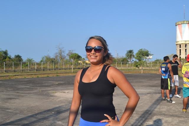 Marcia Oliveira é uma das pioneiras paratletismo amapaense
