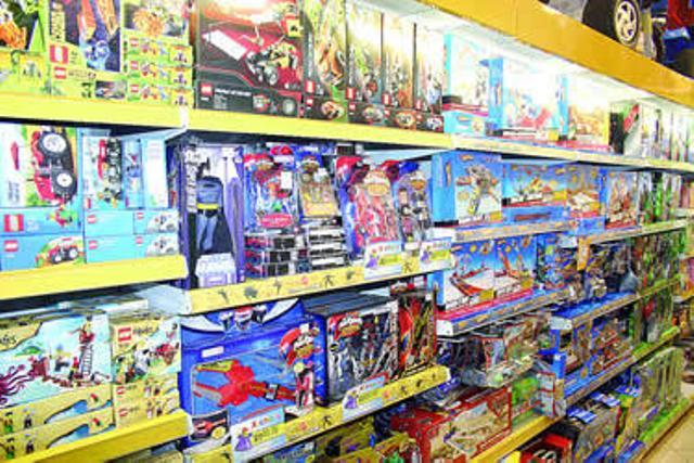 Brinquedos fora dos padrões do Inmetro serão retirados das prarteleiras