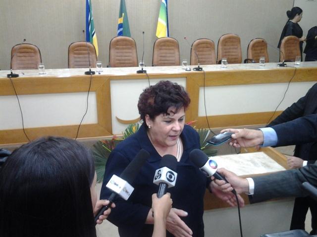 Desembargadora Sueli Pini, presidente do Tjap: esperamos que ele não volte a cometer crimes