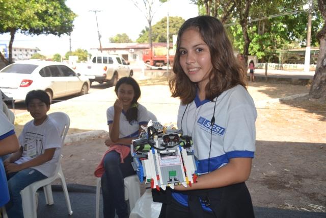 Tauanna Monteiro: felicidade por participar do 1º Torneio no Amapá