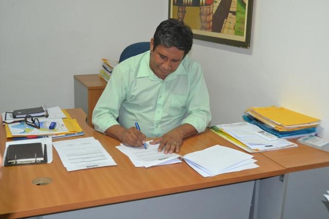 Secretário Disney Silva: o edital é a maneira mais democrática de seleção. Foto: André Silva