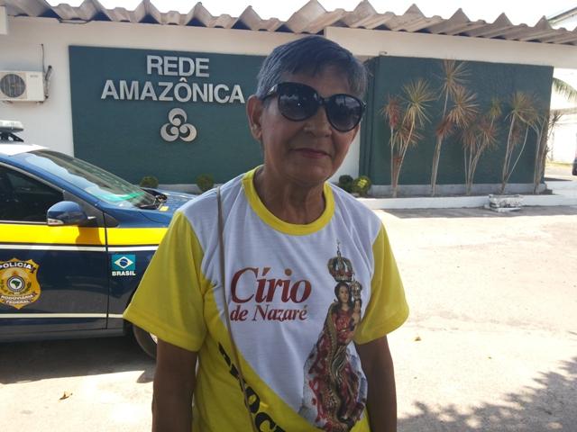 Dulce Monteiro acompanha a santa para agradecer pela vida dos filhos