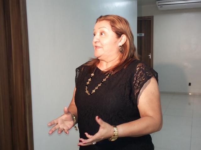 Marlete Gomes dirige o Abrigo São José onde hoje moram mais de 60 idosos