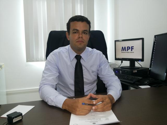 Procurador Thiago Cunha: foram três anos sem o cumprimento do TAC. Foto: Cassia Lima