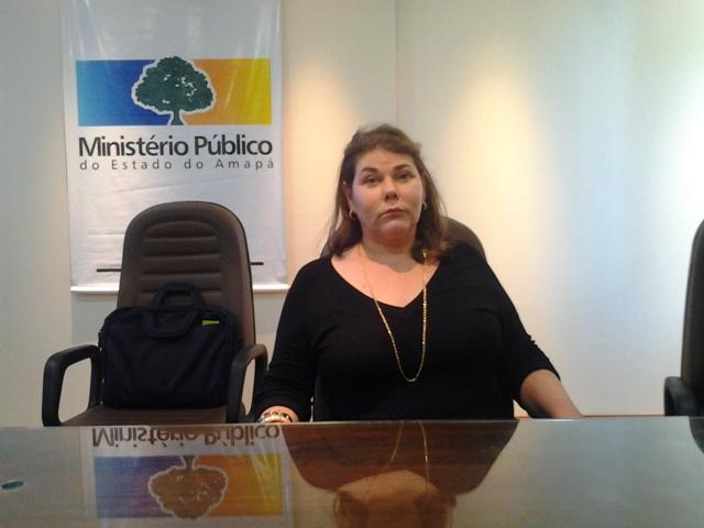 Promotora Tânia Pereira: isso não compromete a lisura do pleito. Fotos: André Silva