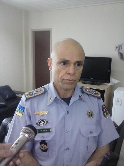 Coronel Carlos, comandante da PM: objetivo é evitar crimes eleitorais, com especial atenção para boca de urna. Foto: Arquivo