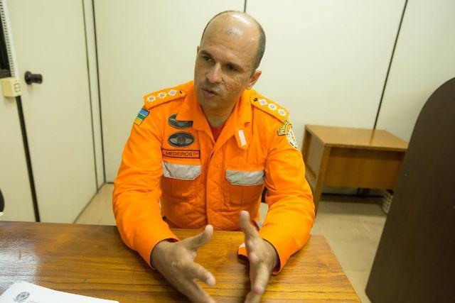 Frederico Medeiros, da Defesa Civil: