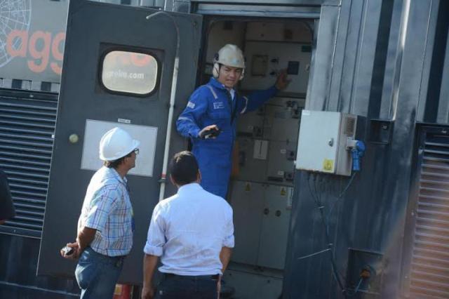 Dois geradores vão funcionar permanentemente e um ficará como reserva. Fotos: Secom/GEA