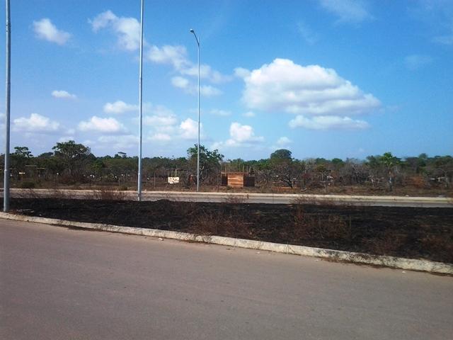 A área é destinada à construção de órgãos públicos