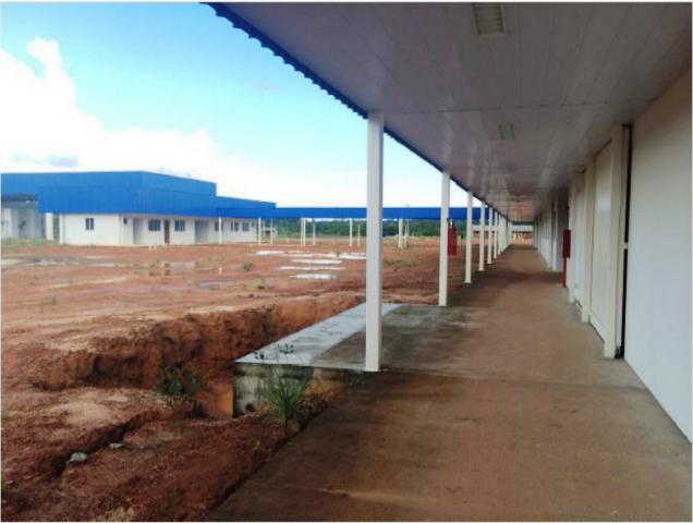 Escritórios aduaneiros do Brasil ainda sem utilidade. Fotos: Arquivo