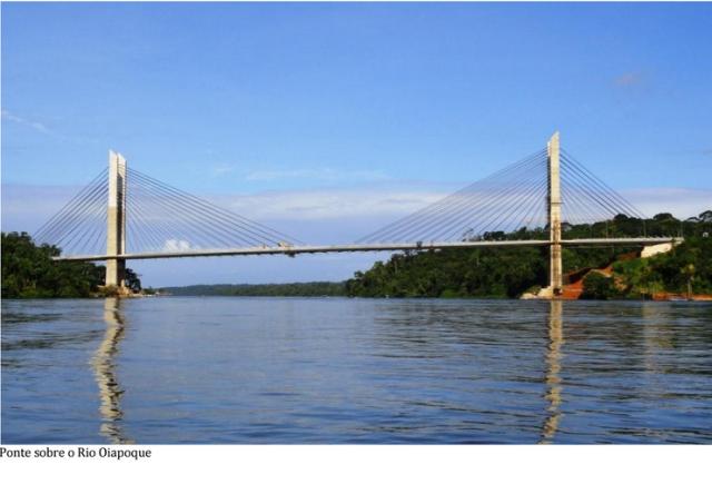 A abertura da ponte binacional pode mudar o perfil dos negócios em Oiapoque. Foto: Humberto Baía