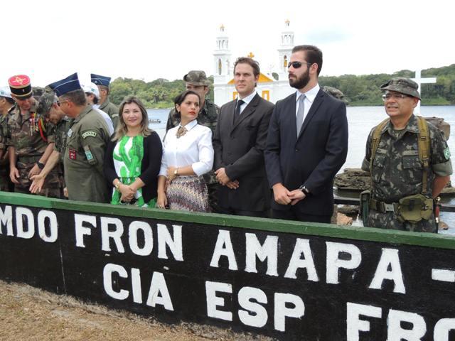 Representantes dos ministérios envolvidos na organização da operação