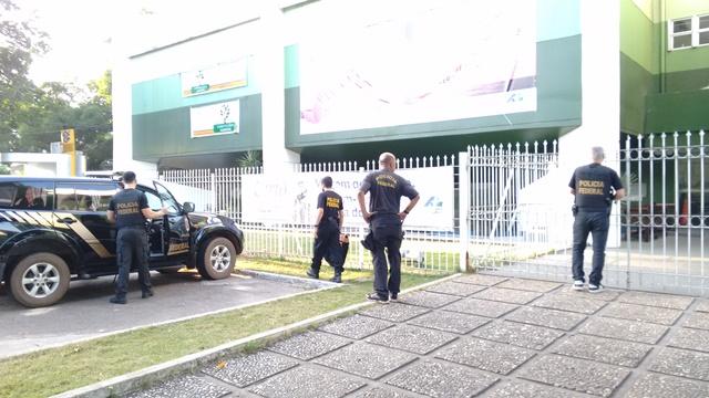 Outubro de 2015: Policiais federais apreendem documentos no prédio central da Assembleia de Deus