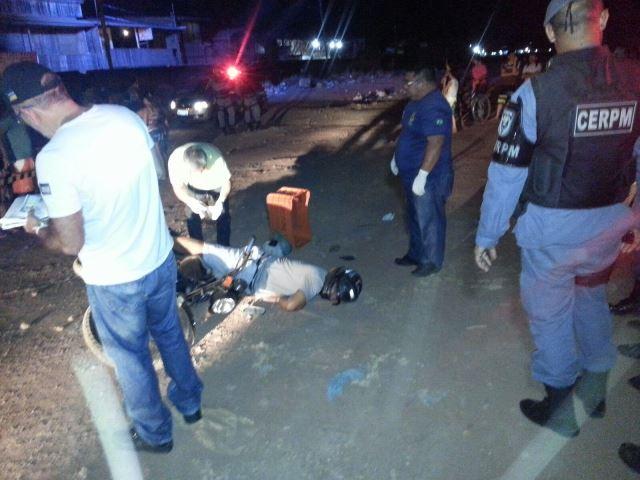 A polícia acredita que Luis tenha tentado acelerar quando viu os bandidos. Fotos: Jair Zemberg