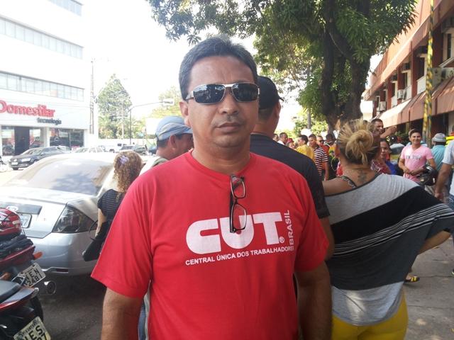 Dinassir Siqueira: vamos fazer greve se nada for feiro