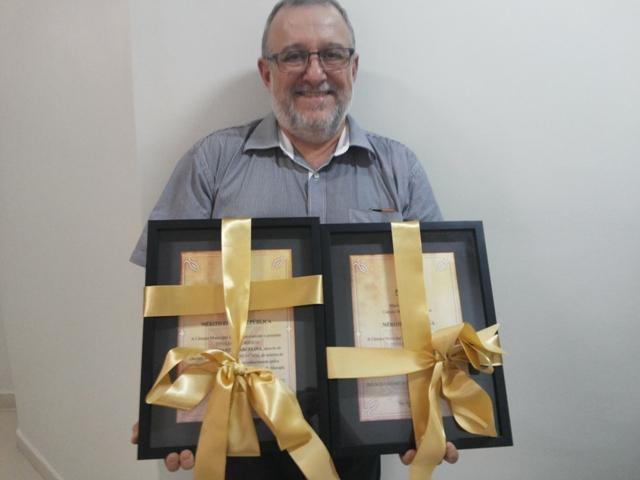 Renato recebeu homenagens dos vereadores de Macapá