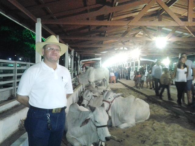 O procurador Jaime Ferreira começou a criar gado para fixar a família no Amapá
