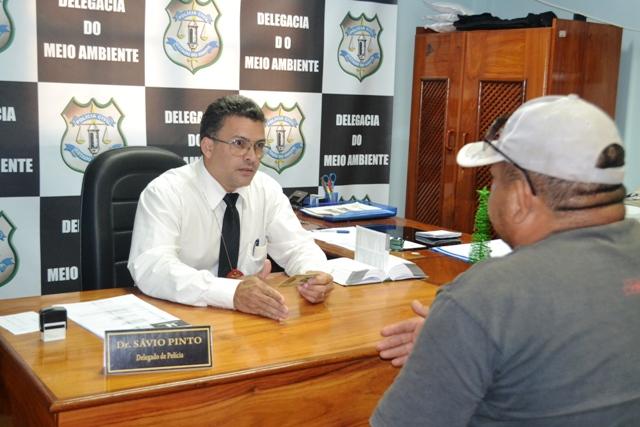 Delegado Sávio Pinto diz que vai encaminhar inquérito ao Ministério Público