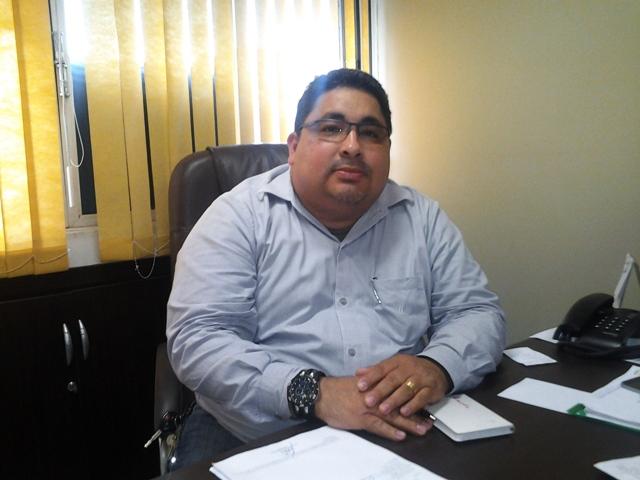 Secretário adjunto de Saúde, Carlos Galan: pagamentos normalizados