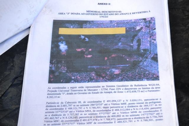 Para invasores, documento prova que a área pretendida pertence ao Bairro Ilha Mirim