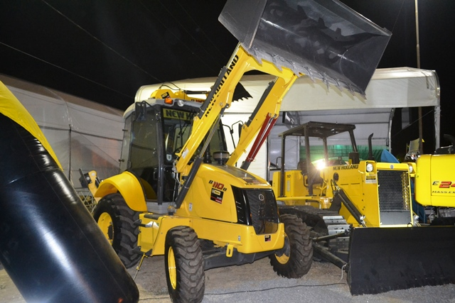 Máquinas capazes de fazer o trabalho de muitos operários em pouco tempo