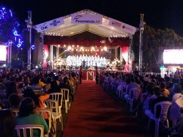 Mais de 300 cadeiras foram colocadas para dar conforto aos visitantes