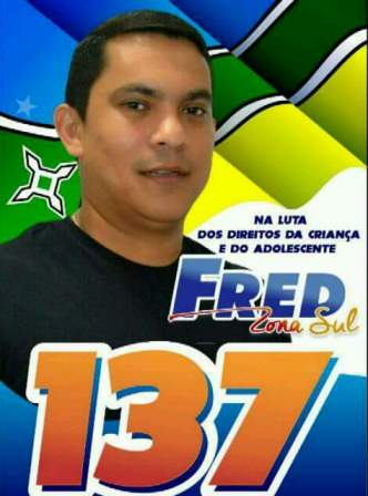 Fred foi candidato, mas não teve votos nem para ser suplente
