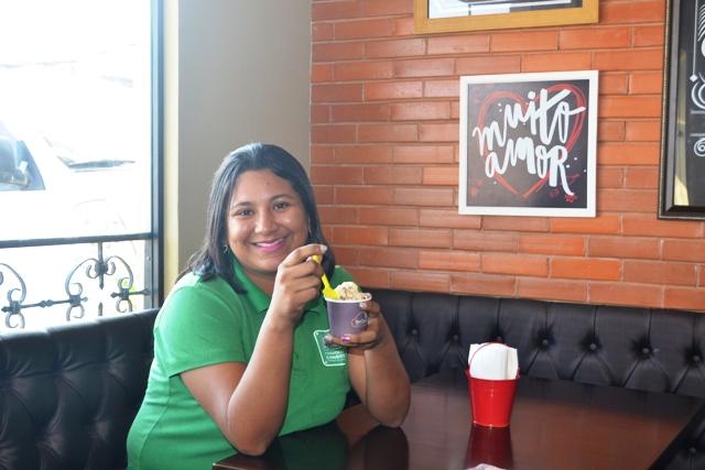 Silvana: comodidade a ajuda a saborear