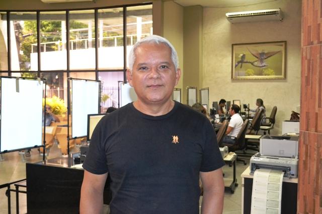 Coordenador da Escola Eleitoral, Rinaldo Farias: aumento do interesse dos jovens