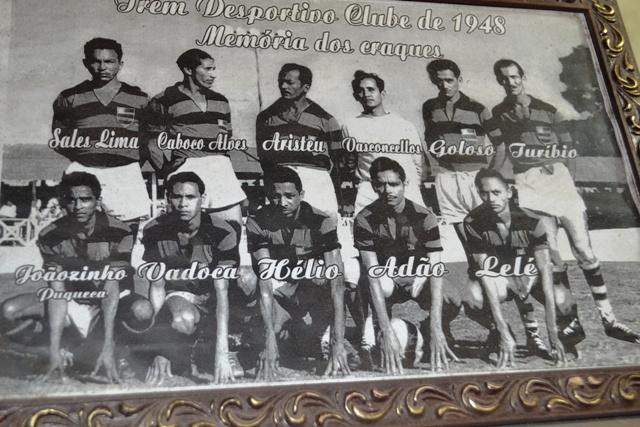 A equipe do Trem, da qual Vadoca fez parte como jogador