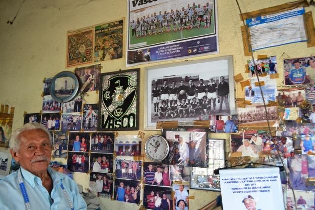 Vadoca tem uma pequena galaria de fotos que registram parte da história de Macapá