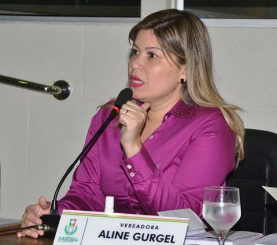 Vereadora Aline Gurgel: