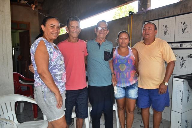 Família reunida: um presente de Natal