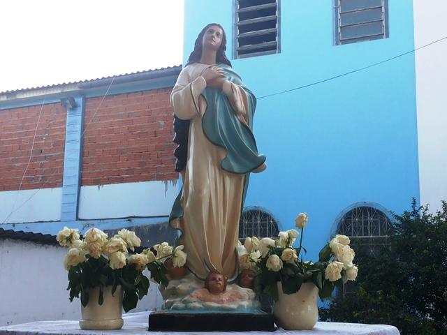 Imagem de Nossa Senhora será conduzida em procissão