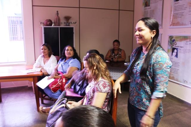 Helen Costa coordena o Proler no Amapá. Fotos: Manoel do Vale
