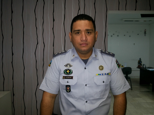 Capitão Pedro Davi: o policiamento vai ser pulverizado em toda a cidade