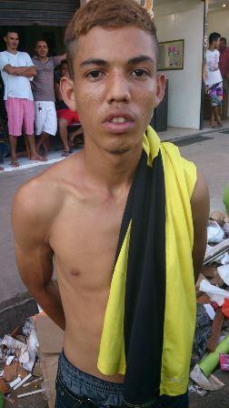 Baratinha tinha pelo menos 10 passagens pela polícia. Foto cedida pelo BRPM