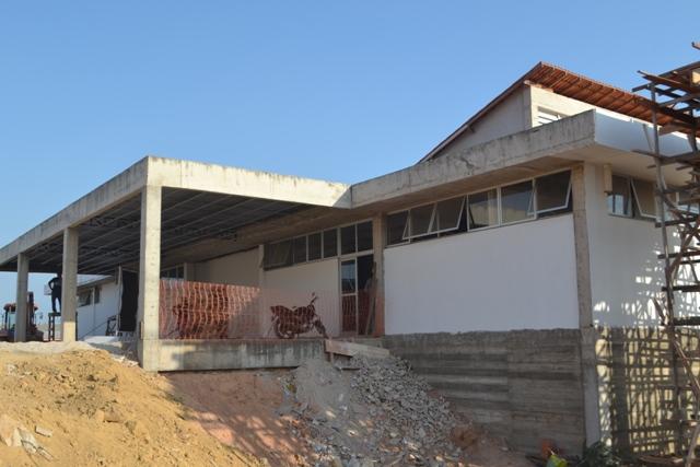 A UPA da Zona Sul foi uma das obras inspecionadas nesta terça-feira. Fotos: André Silva
