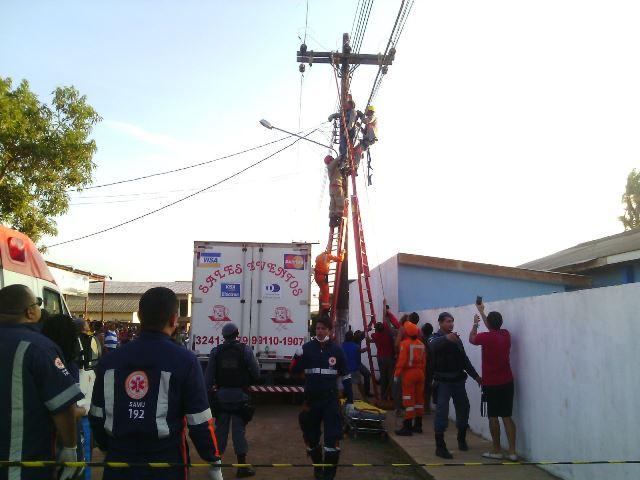 Gilberto foi atingido por uma descarga de 13 mil volts quando acreditava que a energia tinha sido interrompida pela central na CEA