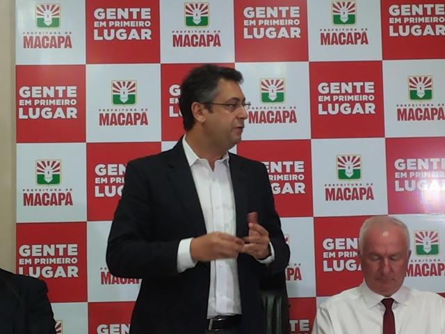 Prefeito Clécio Luís: