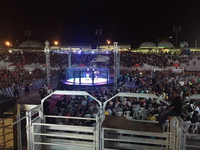 Exibição atraiu um grande número de espectadores. Foto: Divulgação