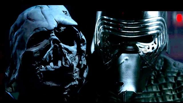 Máscara de Darth Vader queimada no funeral do vilão está no teaser do novo longa